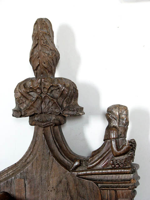 St Mary's church - C14 bench end