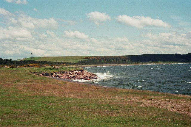 Fort George, coastline