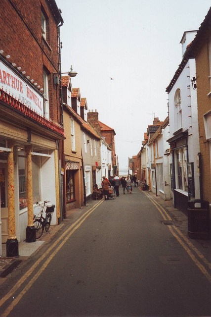 Staithe Street, Wells-next-the-Sea, Norfolk