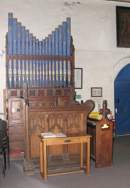 St Mary's church - the organ