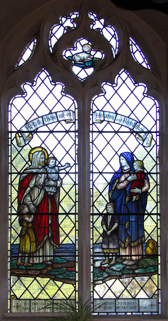 St Mary's church - early C20 stained glass