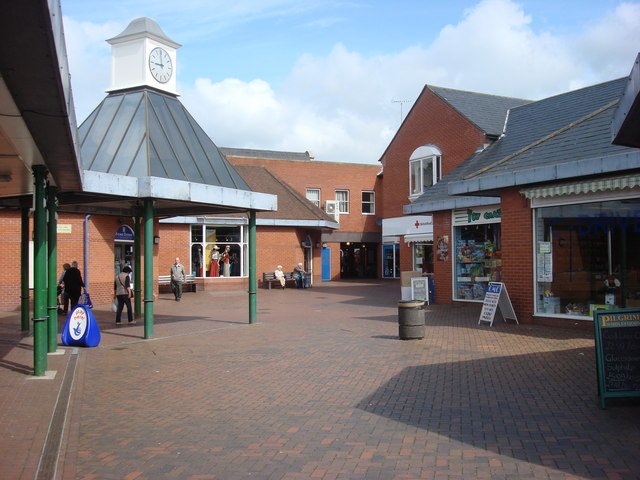 Small shopping centre, Halstead