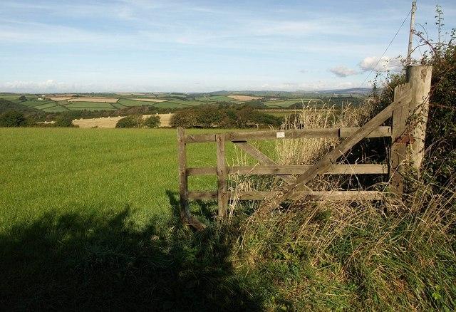 Gate near Blackpost Cross