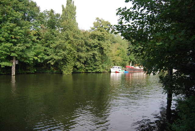 River Medway north of Maidstone