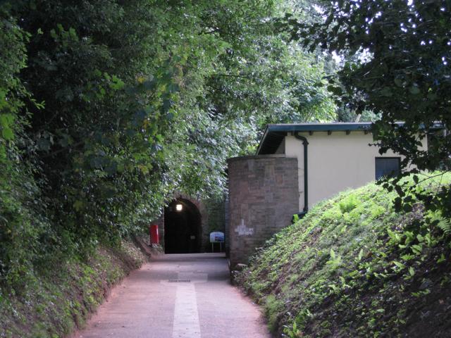Path to Smugglers' Tunnel, the Ness, Shaldon