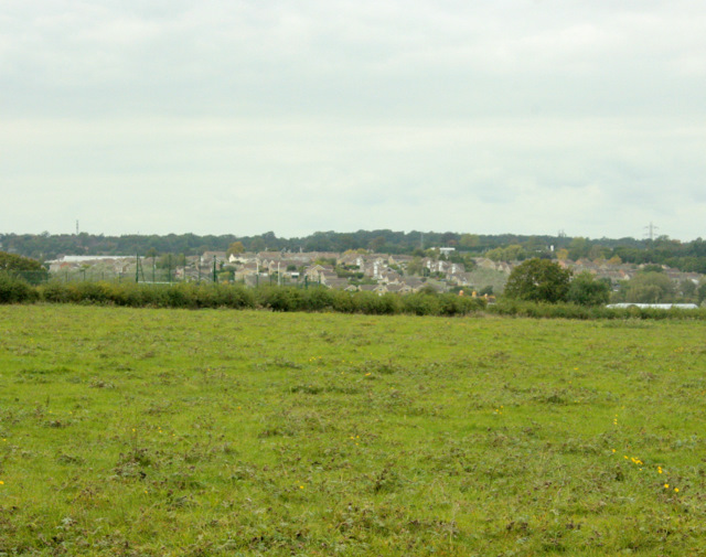 2009 : Over the field to Chippenham north