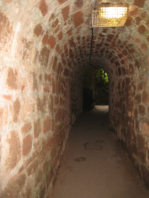 Upper end of Smugglers' Tunnel, the Ness, Shaldon