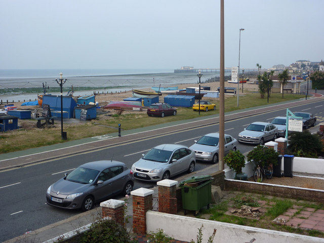 Brighton Road and the sea front, East Worthing