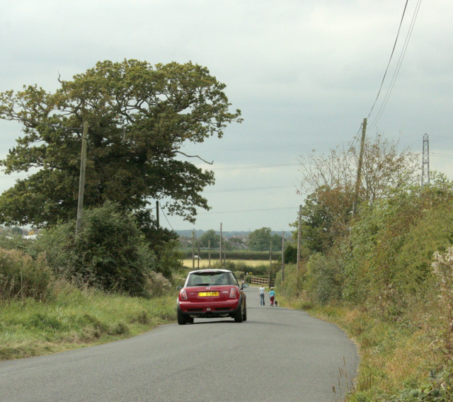 2009 : Stanley Lane near Hither Farm