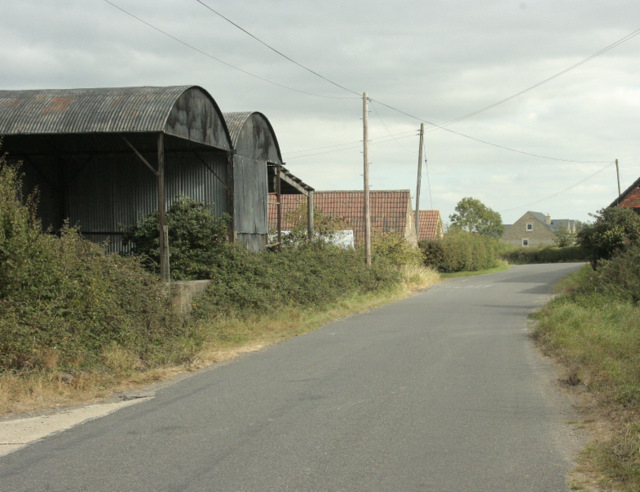 2009 : Stanley Lane passing Hither Farm