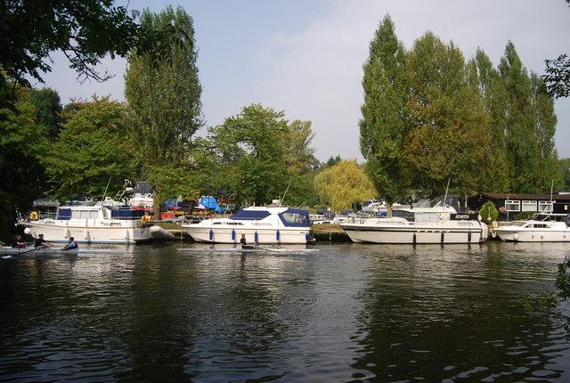Boats on the Medway, Allington Marina