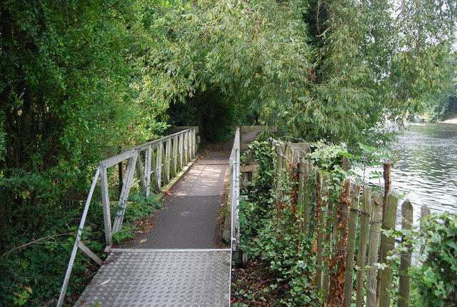Footbridge by the River Medway