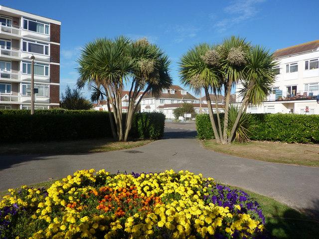 Park exit to Nyewood Lane, Bognor Regis