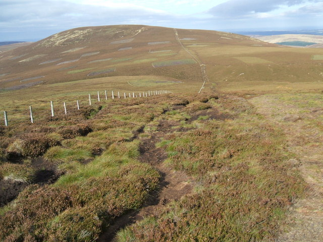 Fence from Scald Hill to Broadhope Hill