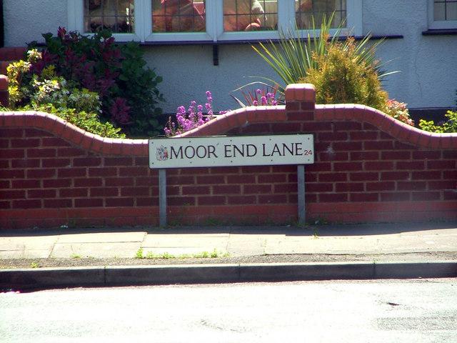 Moor End Lane, Erdington, Birmingham.