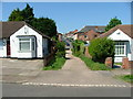 SP1191 : Gully leading from Deakin Road to Trafalgar Road, Erdington by Alan Spencer