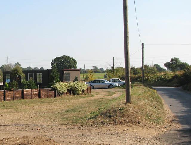 Church Road past Thurlton Bowls Club