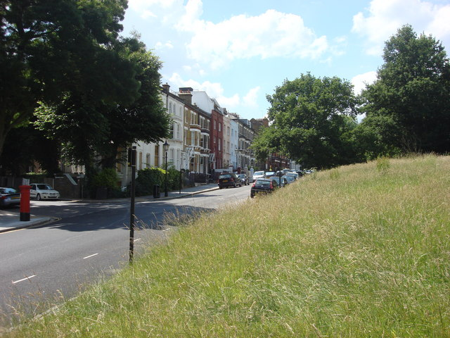 Willow Road from Hampstead Heath