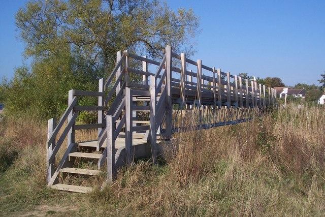 Footbridge near Share Farm