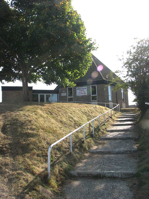 Steps to the Norton, Thurlton and Thorpe village hall