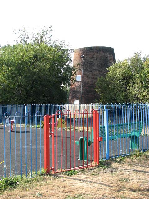 Entrance to children's playground