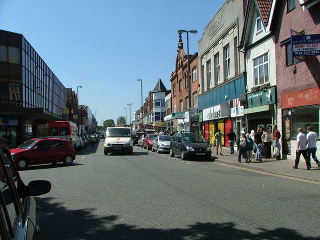 Erdington High Street, Birmingham.