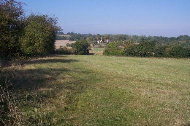 Footpath towards Share Farm