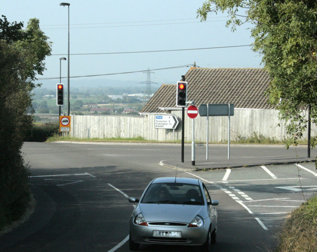 2009 : Crossroads with traffic lights