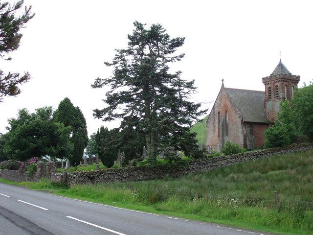 Church and Graveyard at Elvanfoot