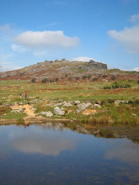 Pond on Craddock Moor