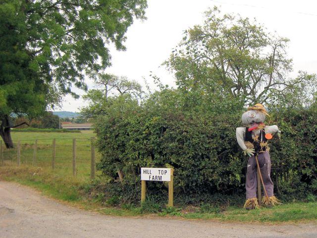 Scarecrow, Hill Top Farm, Long Marston