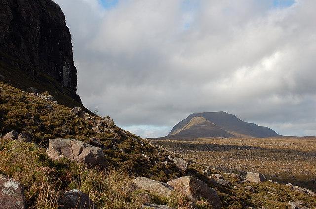 Baosbheinn from below Carn na Feola