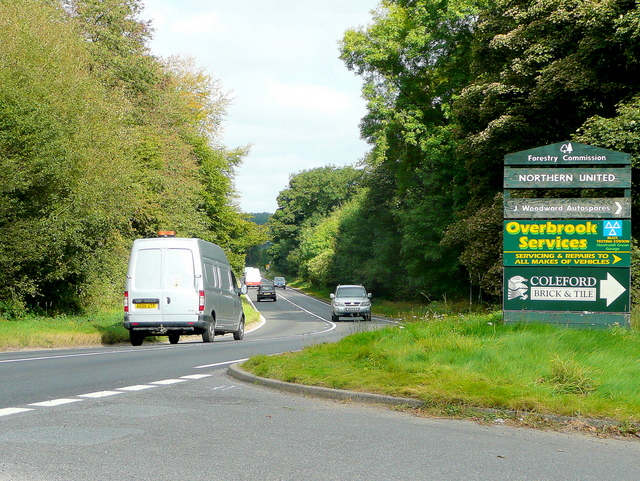 A4136 through the Forest of Dean