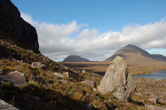Two fine Corbetts north of Torridon