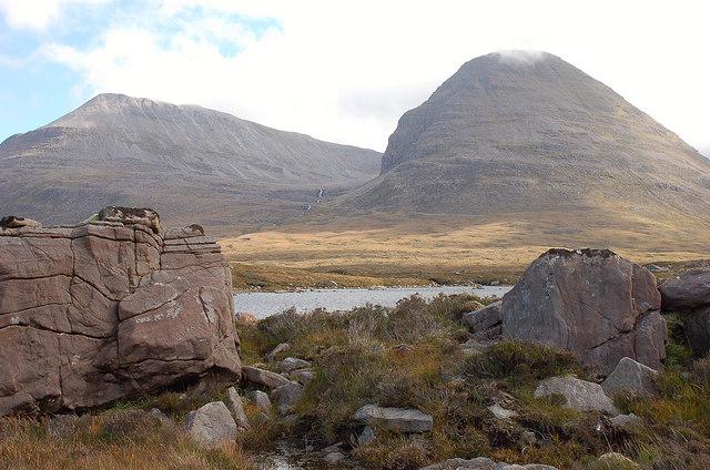 Lochan Carn na Feola and Beinn Eighe