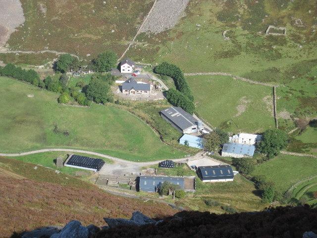 Drws-y-coed-isaf farm