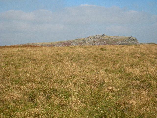 Craddock Moor, looking towards the Cheesewring