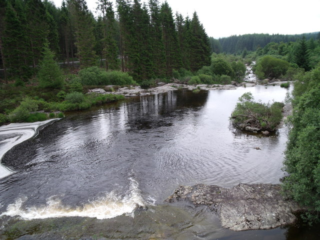 River Dee or Black Water of Dee