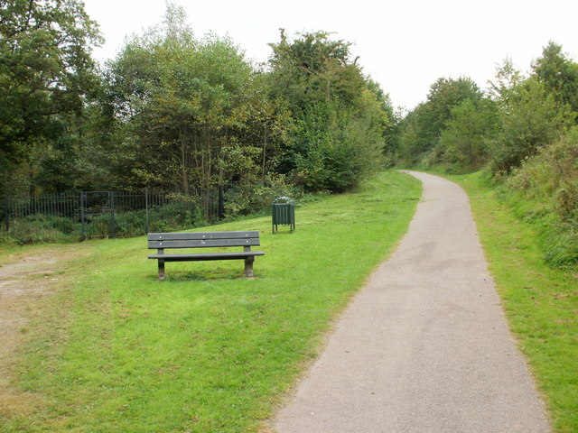 Unnamed nature trail, Malpas, Newport