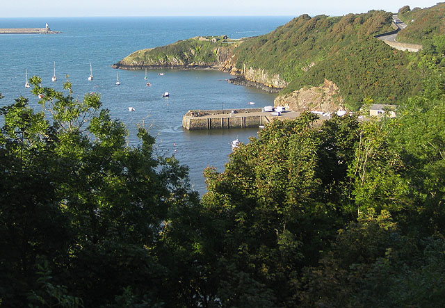 View to Castle Point