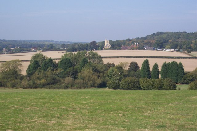 View from Crowbourne Farm