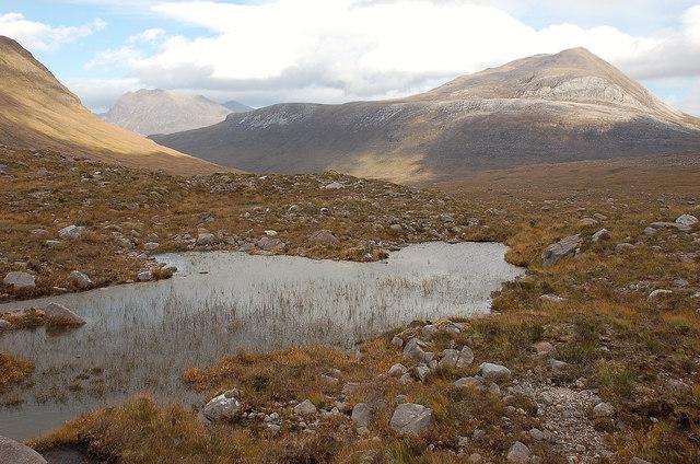 Upper reaches of Glen Grudie