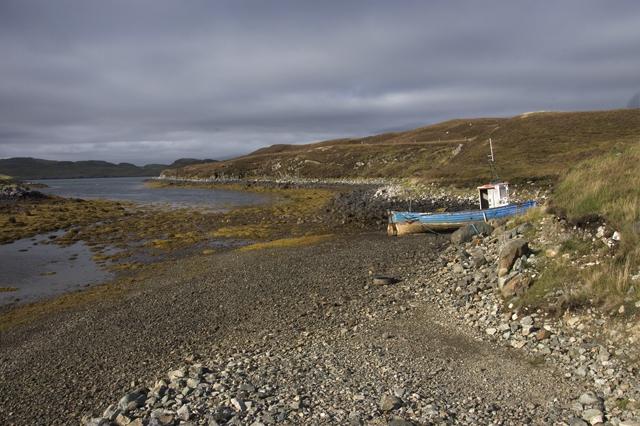 The Abhainn Chleiteir at Loch Erisort