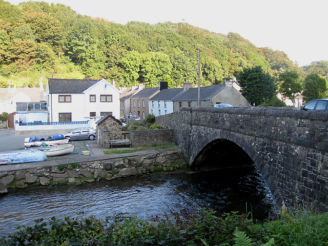 Bridge over the Afon Gwaun
