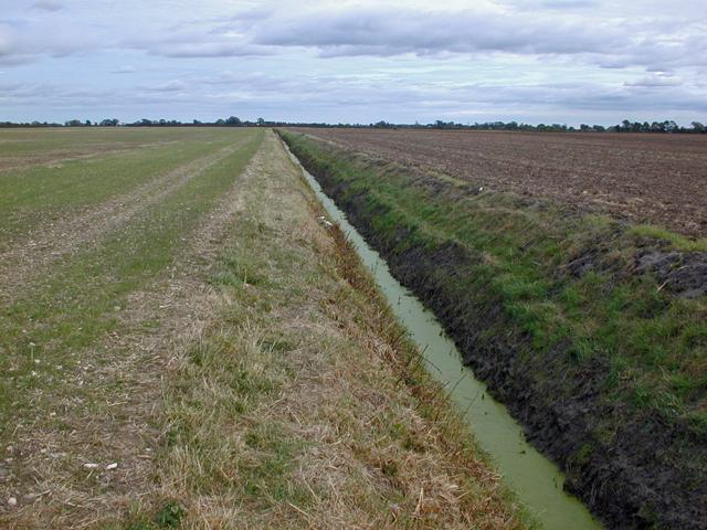 Drainage Ditch near Summercroft Farm