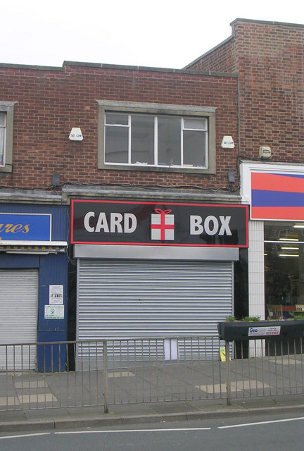 Card Box - Church Lane