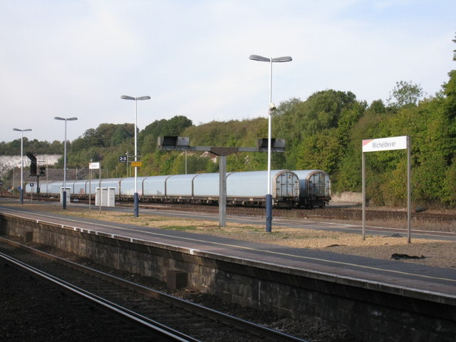 Freight at Micheldever Station sidings