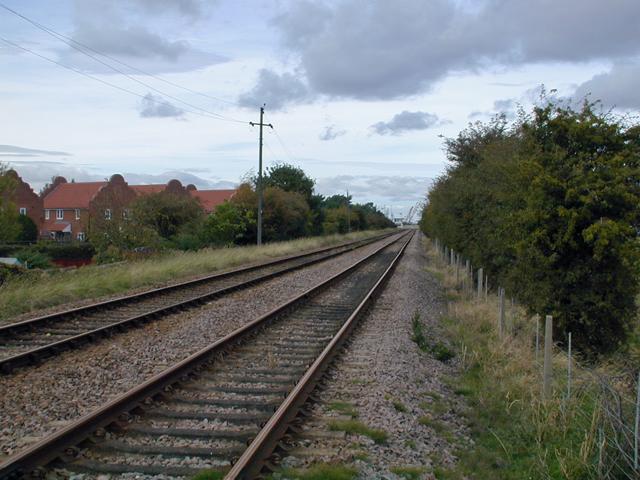 The Railway towards New Holland
