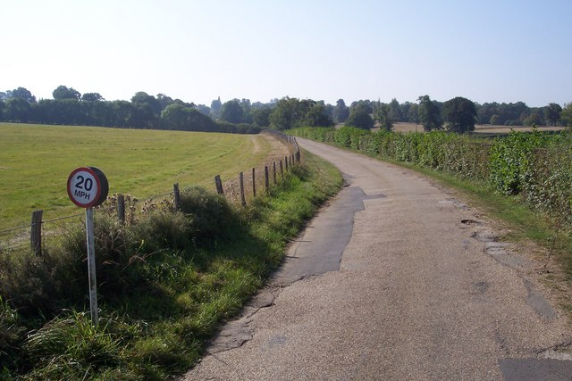 Driveway to Finchcocks Farm and Scotney Castle