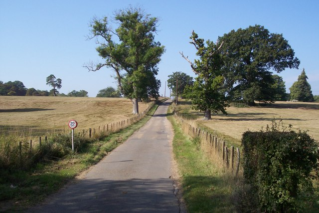 Driveway to Finchcocks